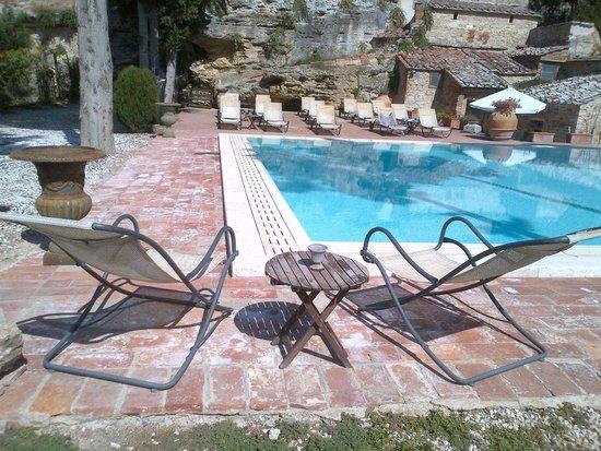 Aia Vecchia di Montalceto : piscina