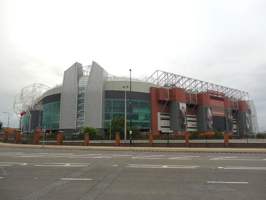 Trafford, UK: Manchester United Stadium