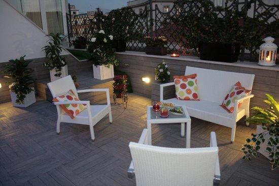 Hotel San Pietro: Roof Garden