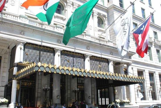 The Plaza : entrance