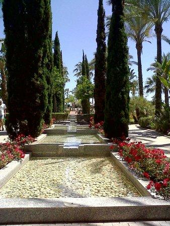 Puerto Antilla Grand Hotel: jardines