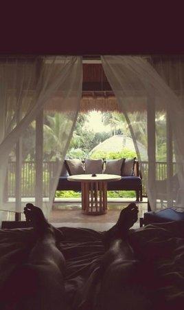 Sudamala Suites & Villas Senggigi: A breezy morning.