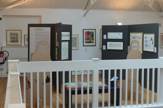 Upstairs at The Cartoon Museum (2)