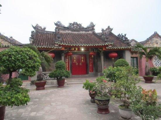 Fukian Assembly Hall (Phuc Kien): Hall to the rear