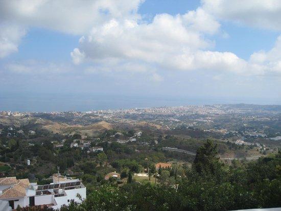 ILUNION Hacienda del Sol: View from Mijas