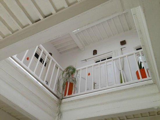 Riad Orange Cannelle : Innenansicht des Riads