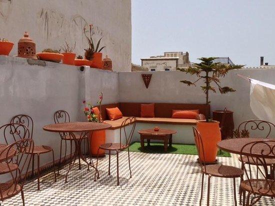 Riad Orange Cannelle : Dachterasse