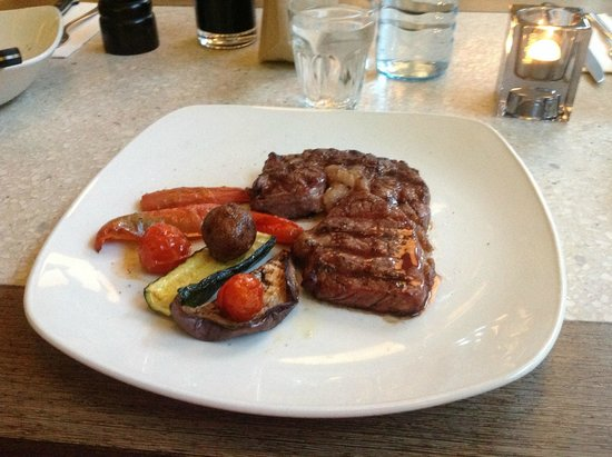 Nero Pizza & Grill: Rib eye dry aged