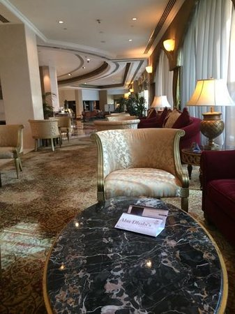 Sheraton Abu Dhabi Hotel & Resort: lobby