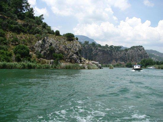 Dalyan River: Resa med båt