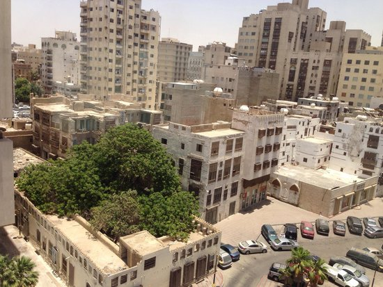 Red Sea Palace Hotel: View of old city