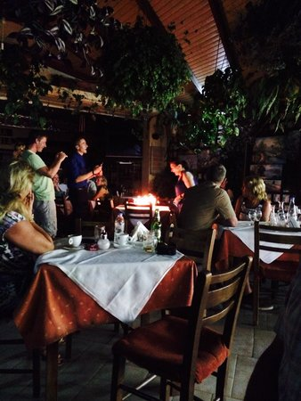 The Filoxenia Taverna: Birthday party for the mama