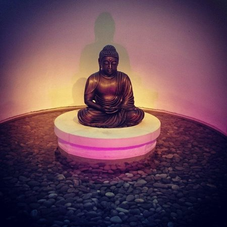 Seaham Hall: Spa buddha