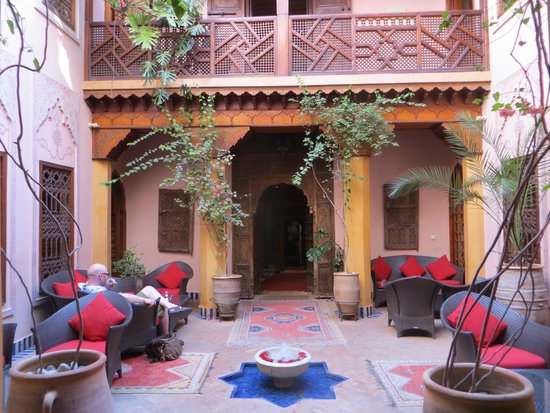 La Maison Arabe : Inner Courtyard
