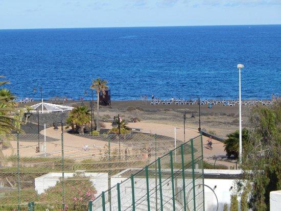 Hotel Lanzarote Village : Het strand op loopafstand