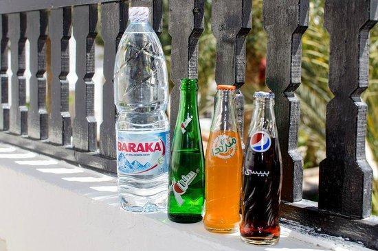 Arabella Azur Resort: Каждый день 3л воды и напитки
