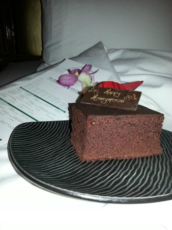 Holiday Inn Chiang Mai: Tarta chocolate Honeymoon