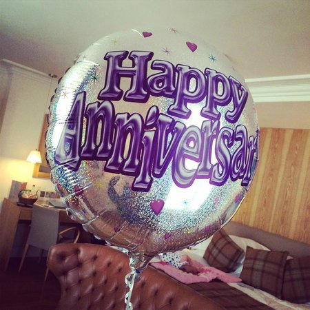 ABode Canterbury : Our anniversary balloon - so thoughtful