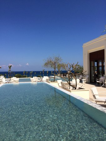 Grecotel Kos Imperial Hotel : How is this for a morning coffee view?