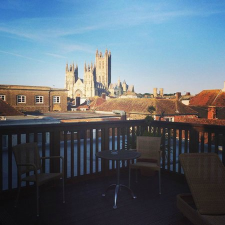 ABode Canterbury: View from the roof terrace