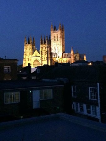 ABode Canterbury: Night view from the roof terrace