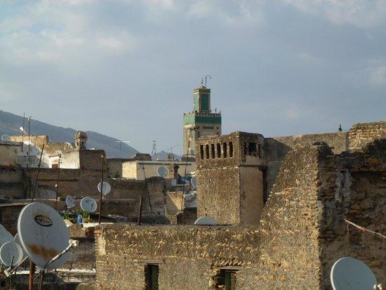 Dar Faracha Fes: vue de la terrasse