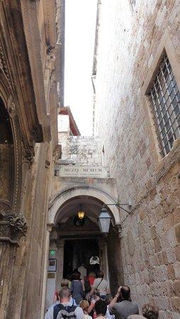 Franciscan Monastery: Wejście