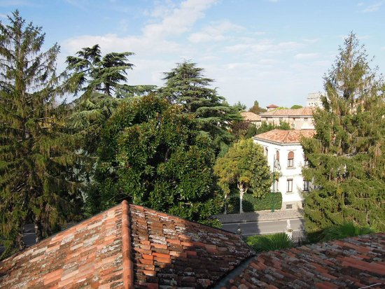Villa Stella, вид из окна комнаты