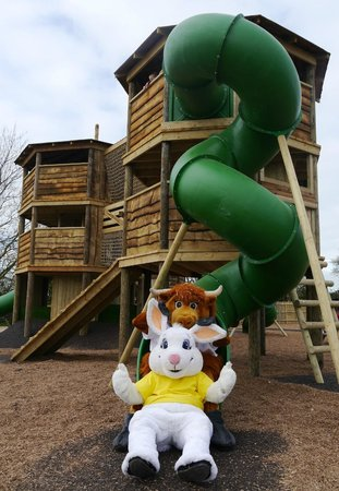 Mead Open Farm: Topsy Turvy Towers Adventure Play