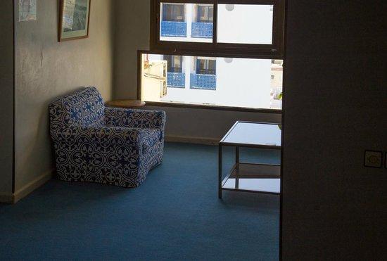 Hotel Zelis: Место отдыха на этаже.