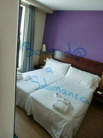 Tryp Salamanca Montalvo Hotel: номер