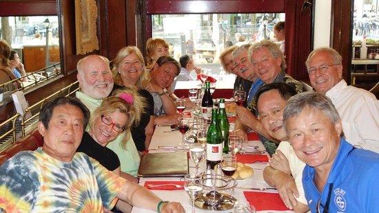 Chez Boubier Cafe de Paris: Delicious lunch with old friends