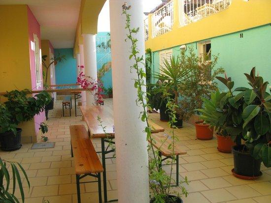 Vila Graciosa Guesthouse : patio