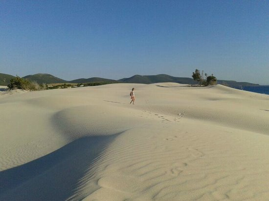 porto pino: la simo sulla duna