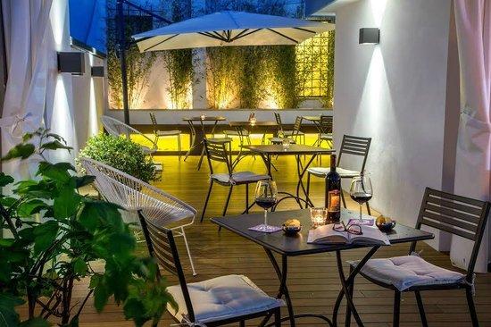 Hotel Del Corso: roof top terrace