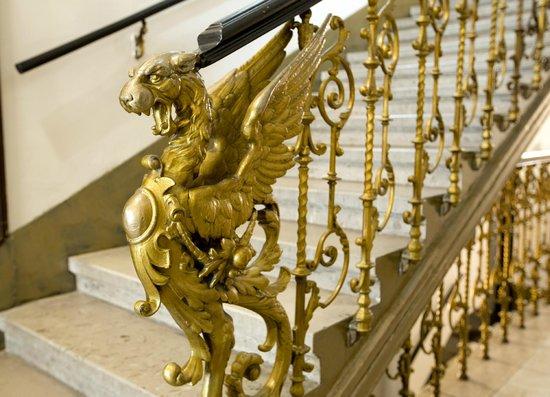 Hotel Fürst Metternich: Stiegenaufgang