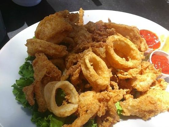 Jack's Cannery Bar and Oyster Pier: カラマリ