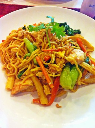 Memoire d' Angkor Boutique Hotel : Amazing and yummy food at the restaurant in Memoire