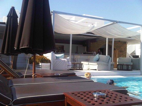 Andronikos Hotel Mykonos: Beach Bar
