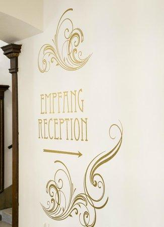 Hotel Fuerst Metternich : Empfang