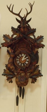 Mr George's Museum of Time: 3 tune black forest cuckoo clock
