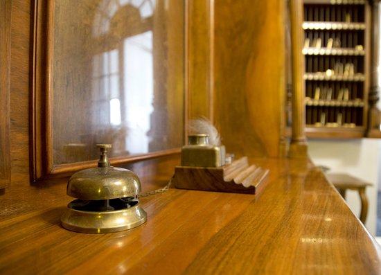 Hotel Fürst Metternich: Empfang