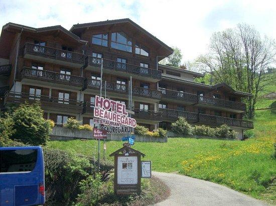 Hotel Beauregard: Front aspect