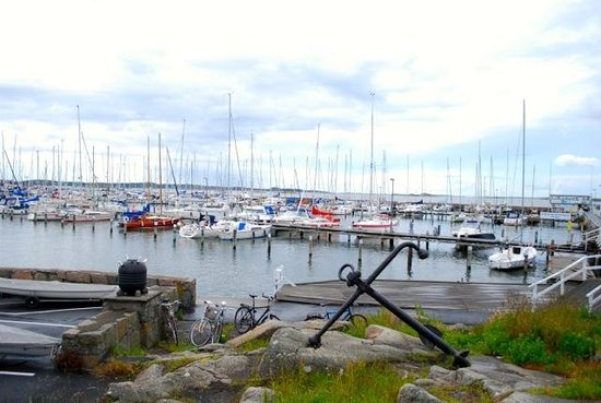 Southern Goteborg Archipelago : Sports Harbour overview