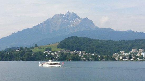 Seehotel Hermitage Luzern: Lake Lucerne