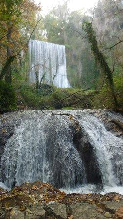 Monasterio de Piedra: cascade