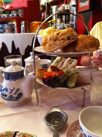 Richmond Tea Rooms: Our afternoon tea