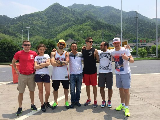 SAT China - Day Tours: Halfway pitstop