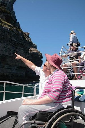 Jervis Bay Wild Cruises: Brendan was so helpful