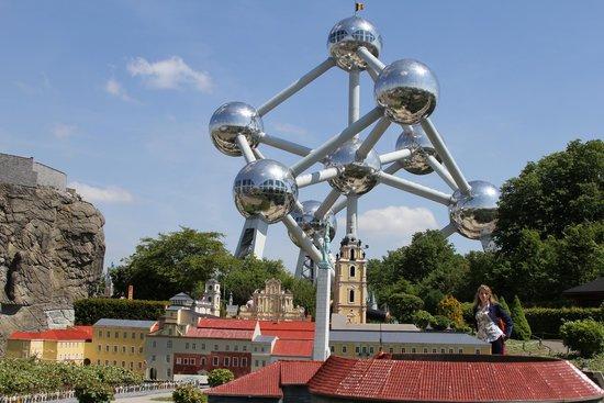Mini-Europe: Мини-Европа, май 2014